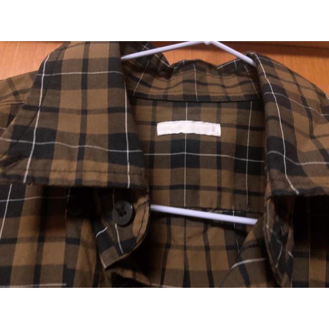 GU(ジーユー)のGU men'sチェックシャツ(女性も着用🙆♀️) メンズのトップス(シャツ)の商品写真