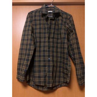 GU - GU men'sチェックシャツ(女性も着用🙆♀️)