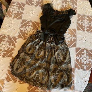 DOUBLE STANDARD CLOTHING - タグ付新品未使用♡VANILLA CoUTURE/ダブスタ♡ブラックリトルドレス