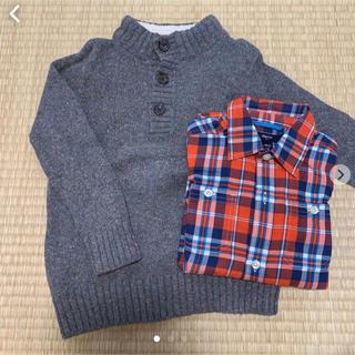 ギャップ(GAP)のGAP 110 男の子(ニット)