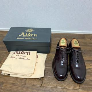 Alden - 新品 オールデン コードバン バーガンディー 994