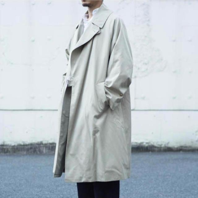 COMOLI(コモリ)の(新品未使用)comoli タイロッケンコート 19aw サイズ2 メンズのジャケット/アウター(その他)の商品写真