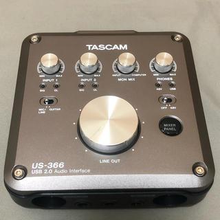 TASCAM オーディオインターフェース US-366
