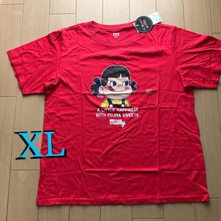 UNIQLO - UNIQLO ユニクロペコちゃんコラボTシャツ XLサイズ 新品未使用品