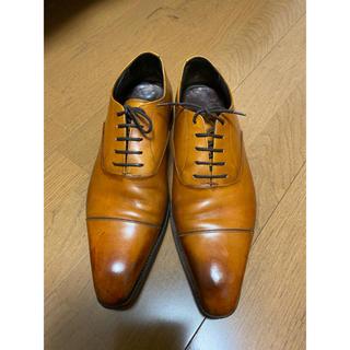 メルミン 革靴 茶色