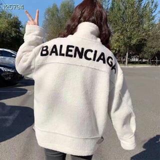 Balenciaga - 今年流行 コート バレンシアガ  ロングパーカー アウター ボア フリース