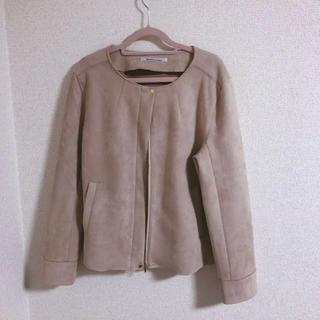URBAN RESEARCH - 定価18,000円  フェイクスウェードコート ピンク ピンクベージュ