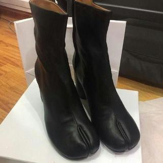 マルタンマルジェラ(Maison Martin Margiela)のマルジェラの足袋ブーツ 39(ハイヒール/パンプス)