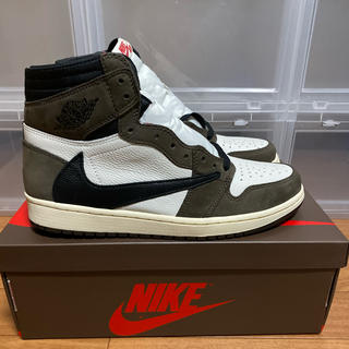 ナイキ(NIKE)のTRAVIS SCOTT×AIR JORDAN 1  RETRO HIGH OG(スニーカー)