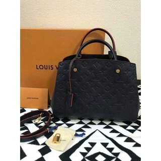 LOUIS VUITTON - 即購入ルイヴィトン モンテーニュトートバッグLOUIS VUITTON