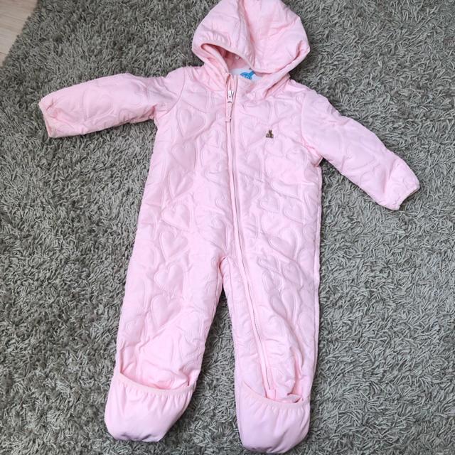 babyGAP(ベビーギャップ)のGAPベビー カバーオールアウター キッズ/ベビー/マタニティのベビー服(~85cm)(カバーオール)の商品写真