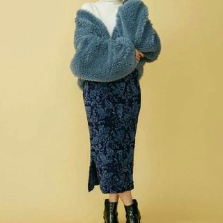 ムルーア(MURUA)のMURUA ジャガードスカート フリー(ひざ丈スカート)