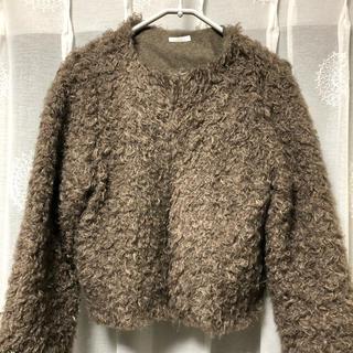 アーバンリサーチ(URBAN RESEARCH)のモコモコジャケット(毛皮/ファーコート)