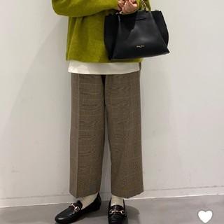 ニコアンド(niko and...)の新品 ラコレ 2019AWガンクラブチェックパンツ(カジュアルパンツ)