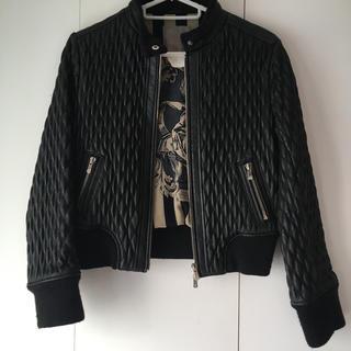 DOUBLE STANDARD CLOTHING - DOUBLE STANDARDCLOTHING 特殊加工レザージャケット