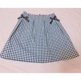 evelyn - evelyn♡リボン付き台形スカート