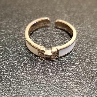 H 指輪 リング ノベルティ(リング(指輪))