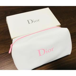 クリスチャンディオール(Christian Dior)の新品 激レア Dior ディオール マチあり ピンク ポーチ 化粧品 ケース(ポーチ)