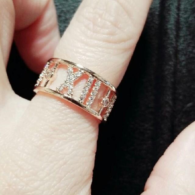 Tiffany ティファニー 指輪 リング ノベルティ レディースのアクセサリー(リング(指輪))の商品写真