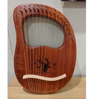 鹿さん ライヤー 楽器 弦楽器