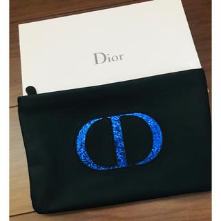 クリスチャンディオール(Christian Dior)の新品 激レア Dior ディオール ラメ入り ポーチ 化粧品 ケース CD(ポーチ)
