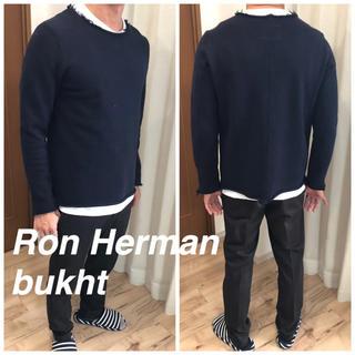 ロンハーマン(Ron Herman)のロンハーマン bukht ブフト ニット ネイビー(ニット/セーター)
