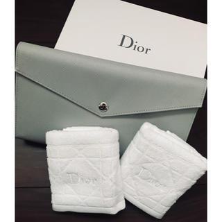 Christian Dior - 新品 激レア Dior ディオール 3点 バッグ + フェイスタオル