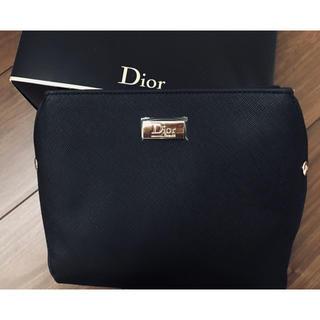 クリスチャンディオール(Christian Dior)の新品 激レア Dior ディオール マチあり ポーチ 化粧品 ケース バッグ(ポーチ)