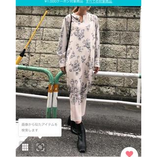 Ameri VINTAGE - 店舗zozo限定ワンピース アイボリー