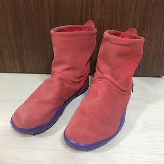 ナイキ(NIKE)のナイキ チャッカモック レッド ブーツ NIKE 25cm(ブーツ)