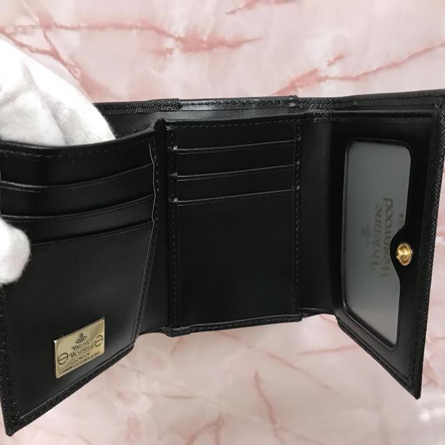 Vivienne Westwood(ヴィヴィアンウエストウッド)の三つ折りがま口財布❤️ヴィヴィアンウエストウッド❤️新品・未使用 レディースのファッション小物(財布)の商品写真