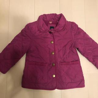 ベビーギャップ(babyGAP)のbaby gap紫のキルティングコート90(コート)