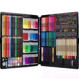 【売切れ必至】絵具セット 258本 (色鉛筆、水彩絵具、クレヨン、固形水彩)