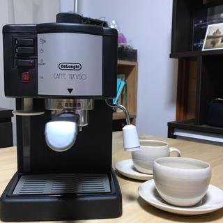 デロンギ(DeLonghi)のエスプレッソカプチーノメーカー(コーヒーメーカー)
