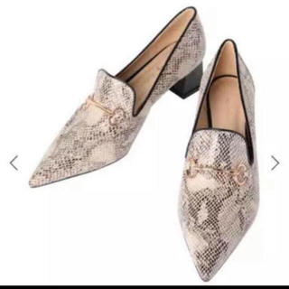エイミーイストワール(eimy istoire)のパイソンローファー(ローファー/革靴)