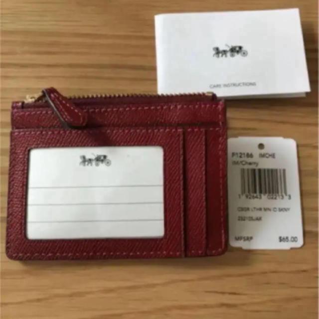 COACH(コーチ)のコーチ♡コインケース パスケース レディースのファッション小物(コインケース)の商品写真