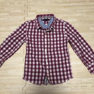 トミーヒルフィガー(TOMMY HILFIGER)のTommy HILFIGERのギンガムチェックシャツ120(Tシャツ/カットソー)