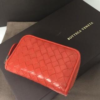 Bottega Veneta - ボッテガヴェネタ イントレチャート 財布 コインコース オレンジ