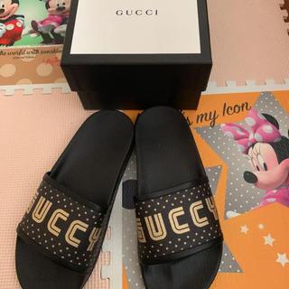 Gucci - GUCCI スポーツサンダル GUCCY グッチ ロゴ SEGAデザイン 24