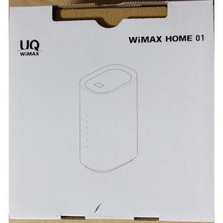 エヌイーシー(NEC)の新品未使用 UQ WiMAX HOME 01 NEC製(その他)