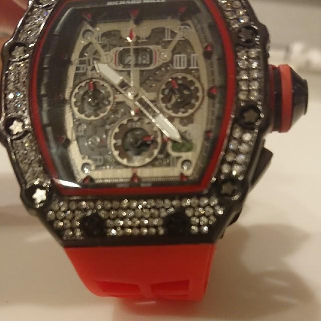 ラバー 腕時計 訳有り 新品  メンズの時計(腕時計(アナログ))の商品写真