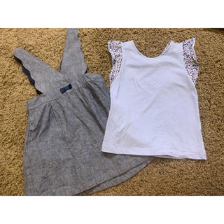 SunnyLandscape - 110 アプレレクール ワンピース+おまけTシャツ