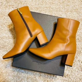 ユナイテッドアローズ(UNITED ARROWS)のUNITED ARROWS 本革ブーツ(ブーツ)
