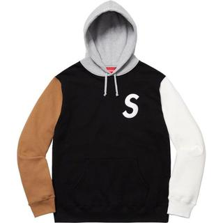 Supreme - S Logo Colorblocked Hooded Sweatshirt
