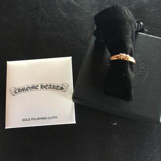 Chrome Hearts - クロムハーツ 22k  ベイビークラシック ダガー リング paveダイヤ