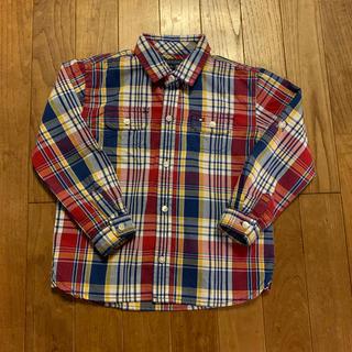 トミーヒルフィガー(TOMMY HILFIGER)のTOMMY HILFIGER チェックシャツ 4T(Tシャツ/カットソー)