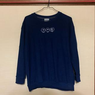 スヌーピー(SNOOPY)の紺色 長袖 スヌーピー(Tシャツ(長袖/七分))