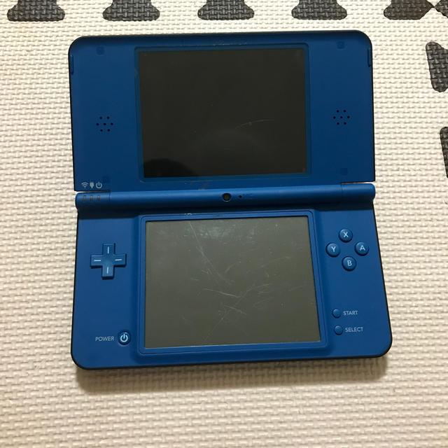 ニンテンドーDS(ニンテンドーDS)の任天堂DS LLブルー  エンタメ/ホビーのゲームソフト/ゲーム機本体(携帯用ゲーム機本体)の商品写真