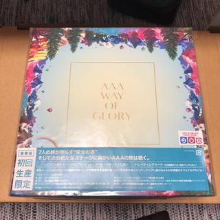 トリプルエー(AAA)のWAY OF GLORY(初回生産限定盤)(ポップス/ロック(邦楽))