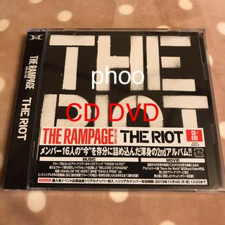 ザランページ(THE RAMPAGE)のTHE RIOT(DVD付)THE RAMPAGE CD DVD(ポップス/ロック(邦楽))